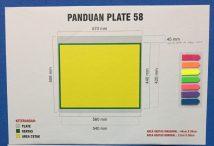 Ukuran Area Cetak, Area Kertas dan Plate untuk Mesin Offset