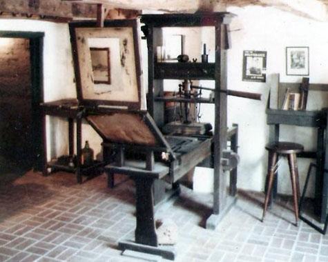Mesin Cetak Johann Gutenberg