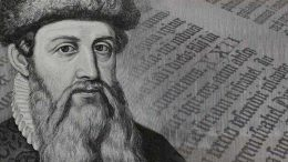 Gutenberg Penemu Mesin Cetak